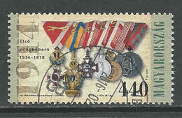 Hongarije Yv 4578 Jaar 2014,   Gestempeld, Zie Scan - Oblitérés