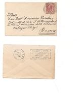 1622) 1921 Annullo Meccanico Targhetta Roma Centro Non Comune - Storia Postale