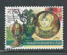 Hongarije Yv 4619 Jaar 2015,   Gestempeld, Zie Scan - Oblitérés