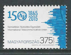 Hongarije Yv 4625 Jaar 2015,   Gestempeld, Zie Scan - Oblitérés
