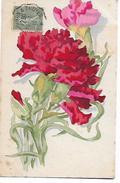 Illustrée  ( Non  Signée ) Oeillets    -  Y M C A     Les  Foyers  Du  Soldat  Union  Franco - Americaine - Blumen