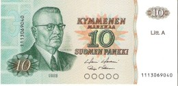 Finland - Pick 112 - 10 Markka 1980 - Unc - Finlandia