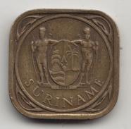 @Y@    Suriname  5 Cent  1966   (4297) - Suriname 1975 - ...