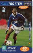 CARTE§ PREPAYEE-40F-CALLTROTTER -INTERCALL-FOOT-ANELKA-31/12/2000- T BE - France