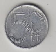 @Y@    Tsjechië  50 Haleru   1993    (4302) - Tchéquie