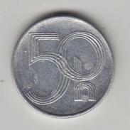 @Y@    Tsjechië  50 Haleru   1993    (4303) - Tsjechië