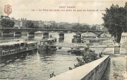 PARIS  SERIE TOUT PARIS  LE PONT DES ARTS - France