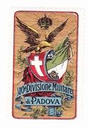 Vignette Militaire Delandre - Italie - 10ème Division Militaire Di Padova - Vignettes Militaires