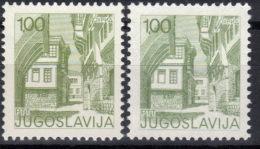 Yugoslavia,Tourist Motives Mi 1661A/C 1976.,both Perforations,MNH - 1945-1992 Socialist Federal Republic Of Yugoslavia