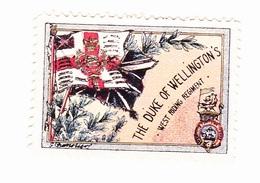 Vignette Militaire Delandre - Angleterre - The Duke Of Wellington's - Erinnofilia