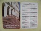 Calendar From Lithuania Birzai Region Museum Sela - Kalender