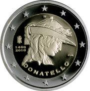 """ITALIA  2€  2.016  2016  BIMETALICA  SC/UNC   """"DONATELLO""""   T-DL-11.977 - Italia"""