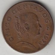 @Y@    Mexico   5 Centavo  1973      (4321) - Mexico