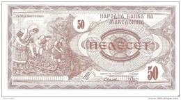 Macedonia - Pick 3 - 50 Denar 1992 - Unc - Macédoine