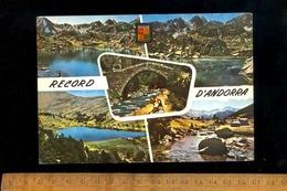 ANDORRE VALLS D'ANDORRA Llacs D'Els Pessons Pont Romanic 1964 - Andorre