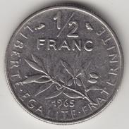 @Y@      Frankrijk  1/2 Franc   1965  (4327) - Frankrijk