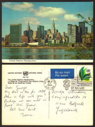 USA New York UN Stamp    #21414 - Otros Monumentos Y Edificios