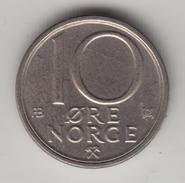 @Y@    Noorwegen  10  Öre  1980     (4333) - Noorwegen