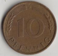 @Y@    Duitsland  10 Pfennig  1971      (4337) - 10 Pfennig