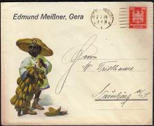 Germany Gera (Reuss) 2. 7. 1924 / Bananas - Duitsland