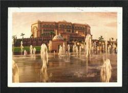 United Arab Emirates UAE Abu Dhabi Picture Postcard Emirates Palace Hotel Abu Dhabi View Card - Dubai