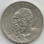 Vaticano, 1930/IX, Pio XI, 20 Centesimi, Spl. - Vatican