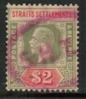 STRAITS SETTLEMENTS  Scott # 200 VF USED - Straits Settlements