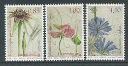Luxemburg, Yv 1961-63  Jaar 2014, Bloemen, Reeks, Postfris (MNH) Zie Scan