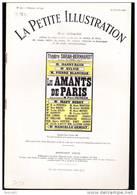 Pierre Frondaie -  Les Amants De Paris - La Petite Illustration N° 365 Théâtre N° 198 - 14 Janvier 1928 - Bücher, Zeitschriften, Comics
