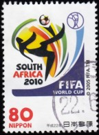 JAPAN - Scott #3235d Football World Cup - South Africa 2010 / Used Stamp
