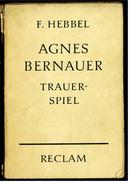 Reclam Heft  -  Trauerspiel  -  Von F. Hebbel  -  1960 - Theater & Drehbücher