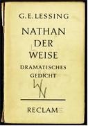 Reclam Heft  -  Nathan Der Weise  -  Von G.E. Lessing  -  1965 - Theatre & Scripts