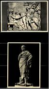 2 X Roma Rom Museo Profano Lateranense : Scena Di Congedo - Sofocle -   Ansichtskarten Ca.1970  (6248) - Museen