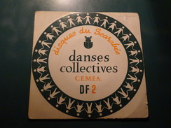 Disques Du Scarabée, Danses Collectives CEMEA DF2 Soyotte Lorraine, Bastringlo, Bougnettes, Petite Farandole, Folklore - Country & Folk