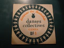 Disques Du Scarabée, Danses Collectives CEMEA DF1 Branle Du Morvan, La Fille Du Coupeur De Paille, Ian Petit, Le Zibouli - Country & Folk