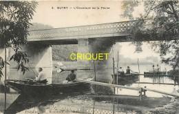 95 Butry, L'ouverture De La Pêche, Pêcheurs En Barques Au 1er Plan - Butry