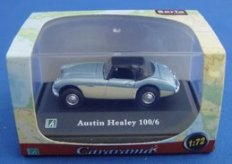 Austin Healey 100/6    1/72 ( Seria ) - Cars & 4-wheels