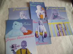 "LOT DE 7 CARTES BEBES ..COLLECTION ""BABY'S COLLECTION""..N°1-2-3-4-5-6 ET 8 - Cartes Postales"