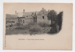 29 FINISTERE - LEZUREC Type D'un Manoir Breton, Pionnière (voir Descriptif) - France