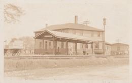 - GARE - RR STATION -THO  MASTON ME - KOEKLAND - CARTE PHOTO - Gares - Avec Trains