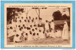 MADAGASCAR-AMBOHIDRATRIMO Animée-+leçon De Catéchisme  En Plein Air -animée Années 20 - Madagascar
