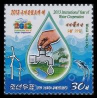 North Korea 2013 Mih. 6056 International Year Of Water Cooperation MNH ** - Korea (Nord-)