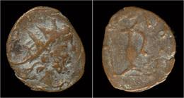 Barbaric Antoninianus Of Tetricus II - 5. L'Anarchie Militaire (235 à 284)