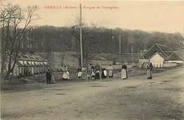 - Allier -ref-B839-  Cerilly - Forges De Tronçais - Forge - Usine - Usines - Industrie - Cite Ouvriere - Cites - - Francia