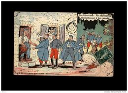 MILITARIA - Carte Humoristique - Scènes Militaires - Scènes De Caserne - Réserviste - Humor