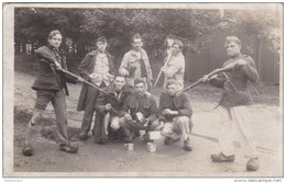 Oude Foto Old Photo Militaria Belgisch Leger Soldaat Armee Belge Soldats Soldiers Belgian Army Gun Bayonet Baïonnette - Personnages