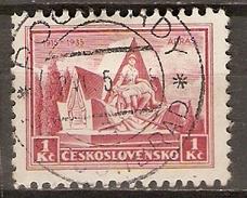 TCHECOSLOVAQUIE     -    1935 .   Y&T N° 296 Oblitéré  . - Czechoslovakia