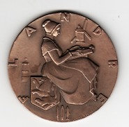 Medaille - Bronze_    Flandre-  Compagnie Transatlantique - France
