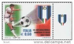 ITALIA - ITALIE - ITALY - 2008 - INTER CAMPIONE D´ITALIA 2007-2008 - YT -- ** - Calcio