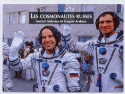 LES COSMONOTES RUSSES ANATOLI SOLOVIEV ET SERGEÏ AVDEIEV 1992 - Historical Documents